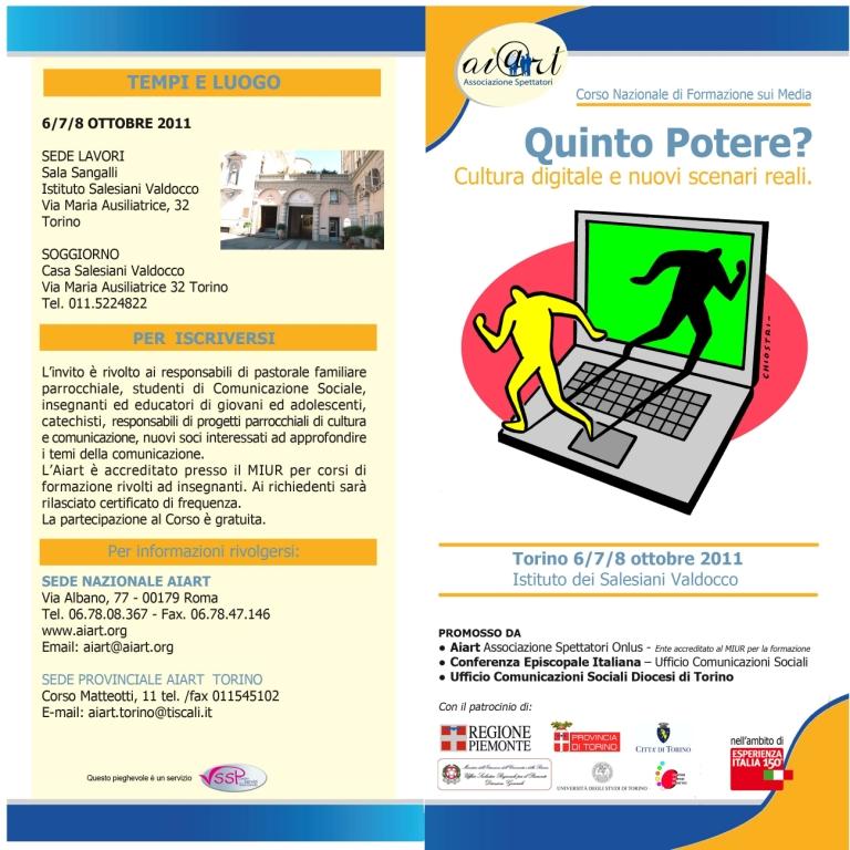 Programma-invito corso Torino - esterno Programma-invito corso Torino - esterno